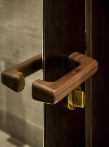 American Walnut door pulls