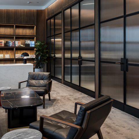 Qantas Chairman's Lounge